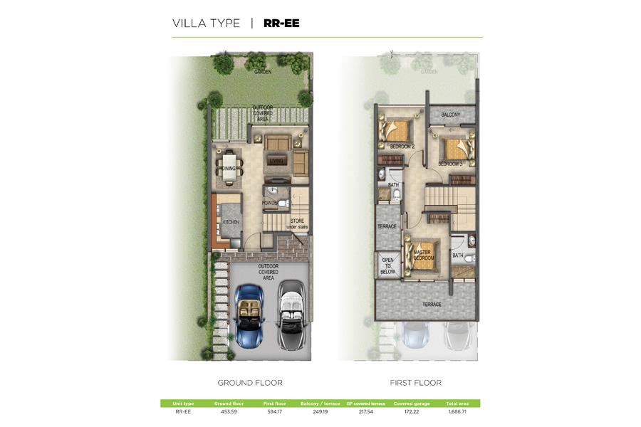 Floor Plans Akoya Oxygen Dubai Real Estate