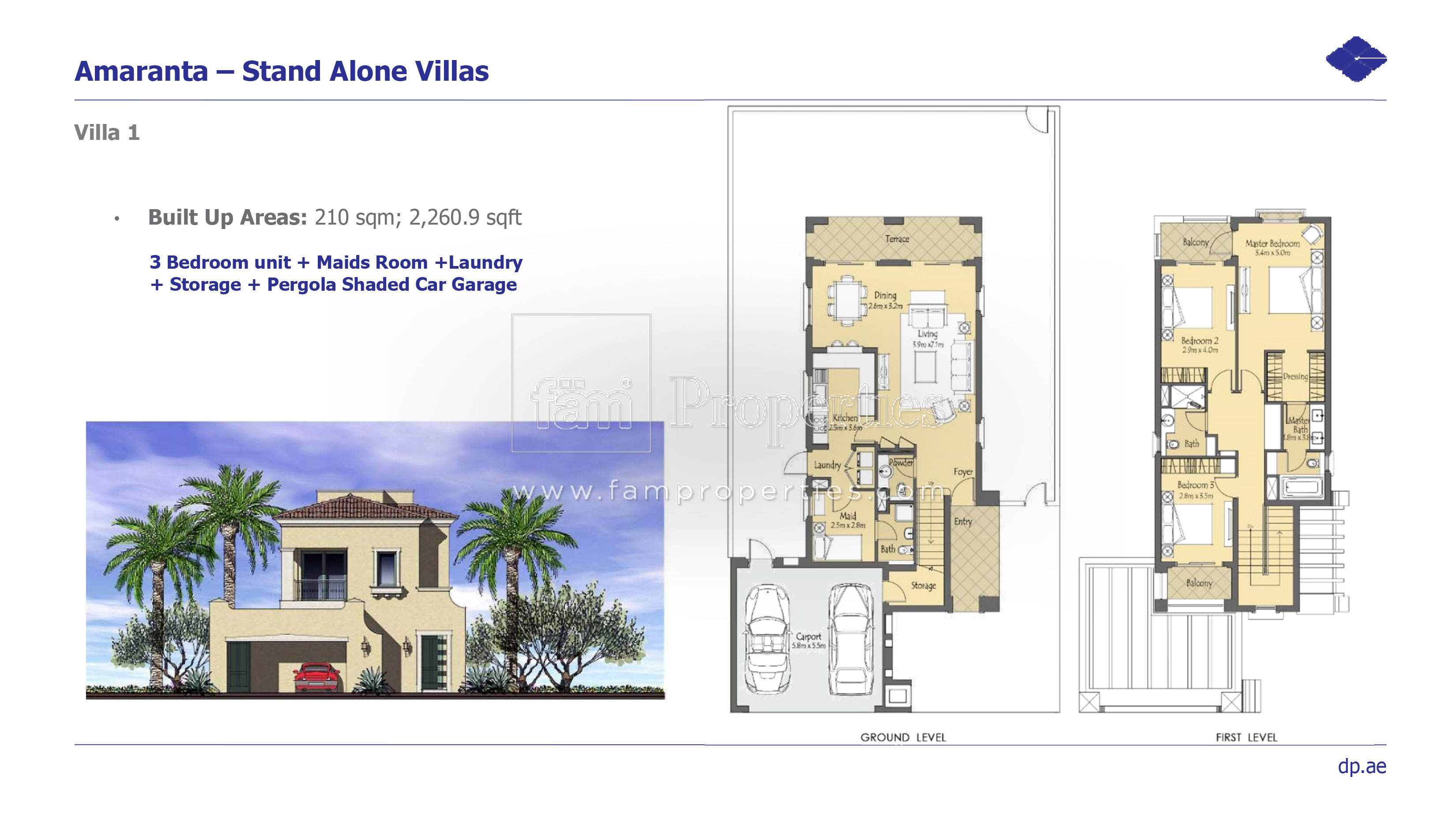 Villanova Dubai Land By Dubai Properties
