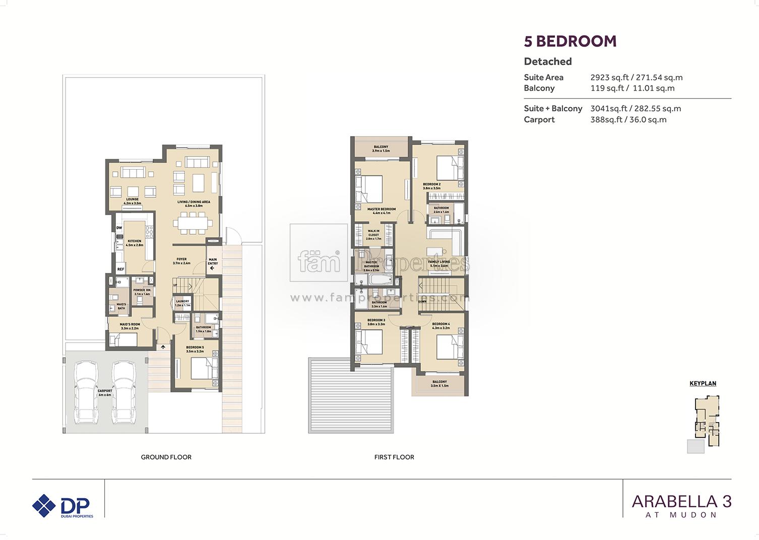 Arabella Townhouses Dubai Land By Dubai