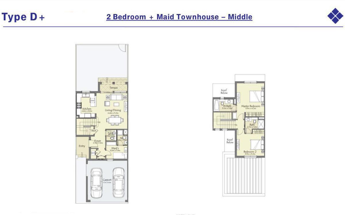 Floor Plans Serena Dubai Land By Dubai Properties