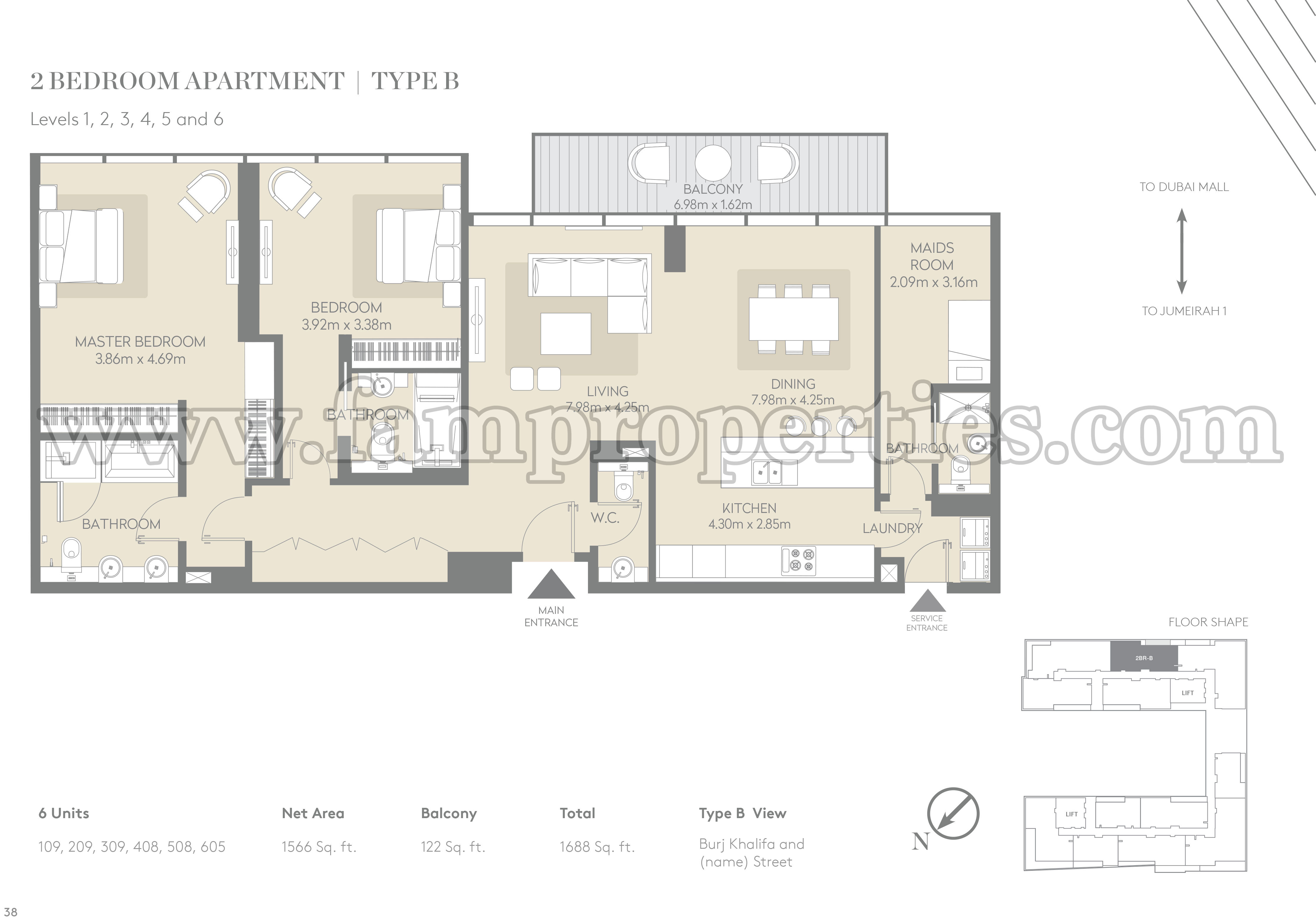 Floor plans city walk jumeirah by meraas for Floor plan layout