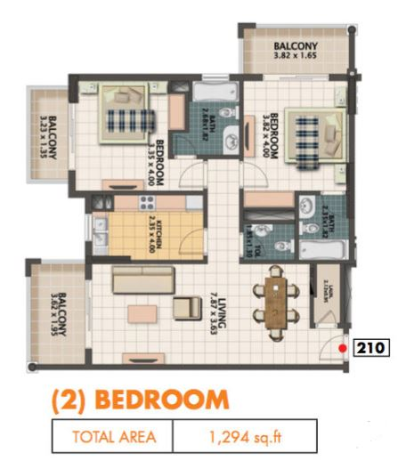 Floor Plans - Dubai Land - Dubai Real Estate
