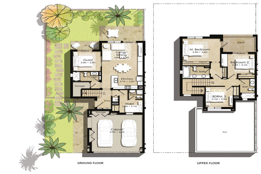 4 bedroom townhouse floor plans home design for Four bedroom townhouse