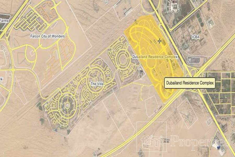 Dubailand Residence Complex Plots