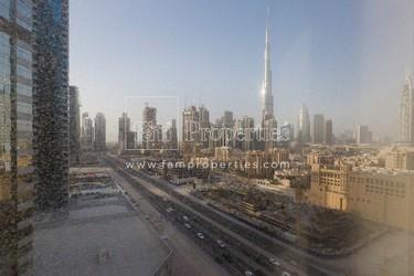 Furnished office | Burj Khalifa View | Opal Tower
